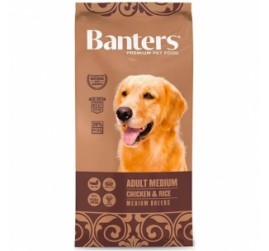 BANTERS ADULT MEDIUM 3 KG.