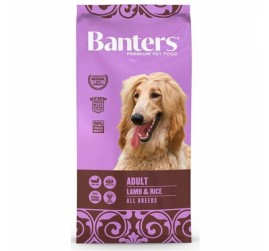 BANTERS DOG LAMB RICE 15KG
