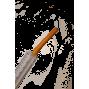 Jeringuilla  embuchar con sonda látex 10ml